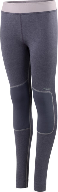 Houdini Jr Alpha Long Johns Gråstone Purple